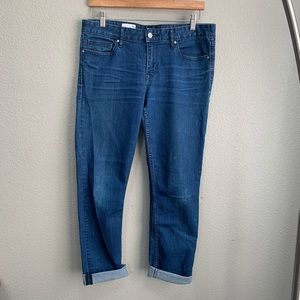 GAP always cuffed denim skinny jeans 30